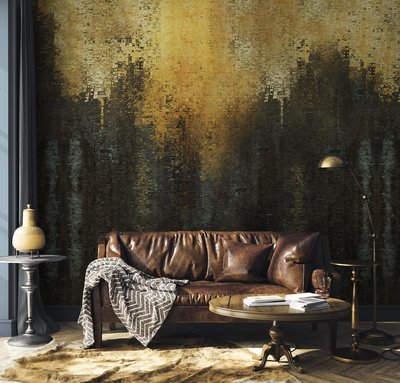 Coordonne Gustave Behang - Gold