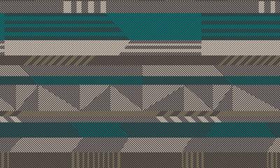 ARTE Etno Behang - Green Metal