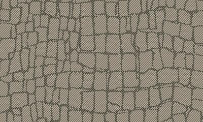 ARTE Croc Behang - Dark Grey