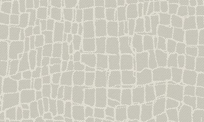 ARTE Croc Behang - Light Grey