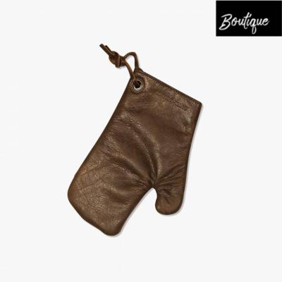 DutchDeluxes Leren Ovenhandschoen - Vintage Brown