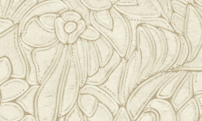 ARTE Flore Behang - Bone