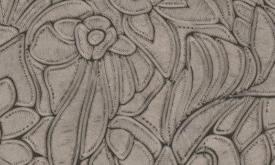 ARTE Flore Behang - Onyx