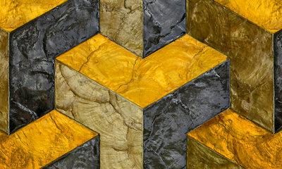 ARTE Helix Behang - Inca Gold