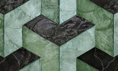 ARTE Helix Behang - Glazed Sage