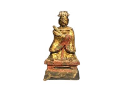 Beeld Chinese Jadekeizer 17e eeuws