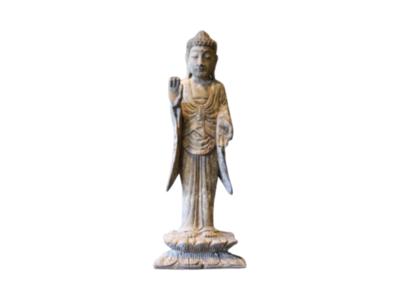 Houten Buddha Staand