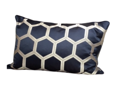 Designers Guild Sierkussen 60x40cm Blauw Hexa