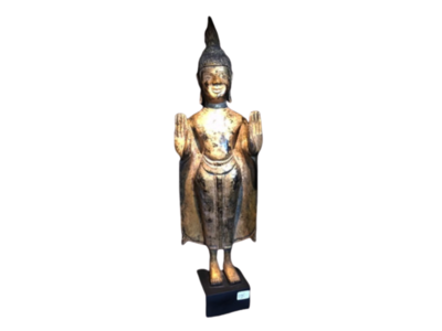 Luxe Boeddha Staand Op Voetje