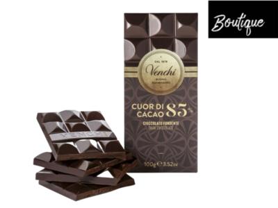 Venchi Pure Chocoladereep 85%