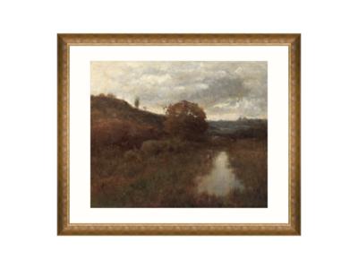 Mind The Gap Autumn Landscape By A Wyant Wanddecoratie