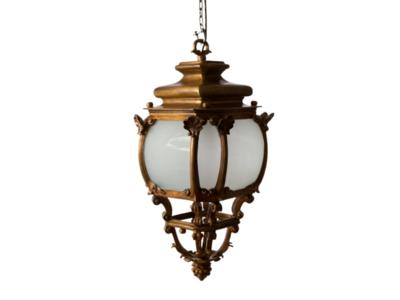 Mmono Jugendstil Buitenverlichting Hanglamp Brons - E1