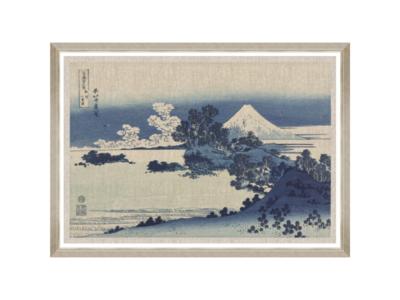 Mind The Gap Shichiri Ga Hama By Hokusai Wanddecoratie