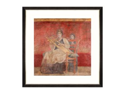 Mind The Gap Pompeii Wall Fresco I Wanddecoratie