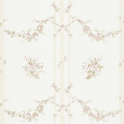 Tuilleries Stripes - Pale Pink