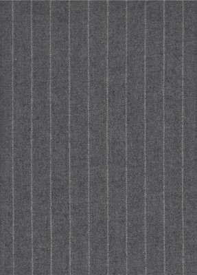 Windsor Chalk Stripe - Falcon Grey