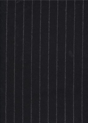 Windsor Chalk Stripe - Black