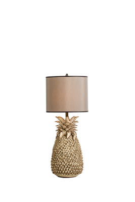 Lumière Pine chic table lamp small