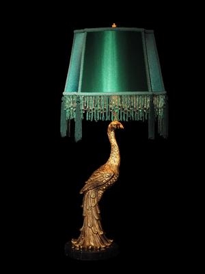 Marie Martin Perky Peacock Tafellamp