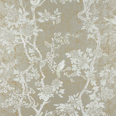 Ralph Lauren Marlowe Floral Behang 'Sterling'