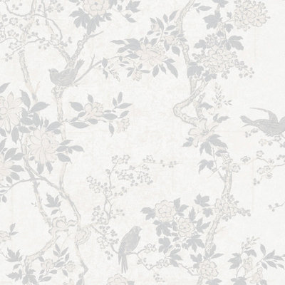 Marlowe Floral 'Dove'