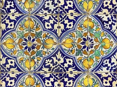 Mind the Gap Sardegna Tiles Behang