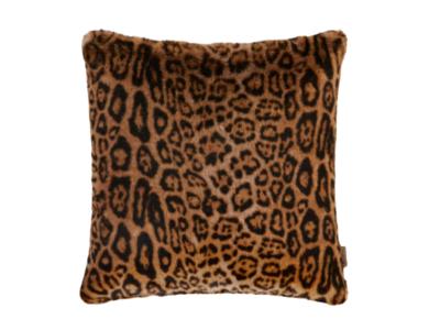 ETRO Sierkussen Fake Fur Leopard