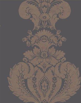 Baudelaire, antraciet en brons