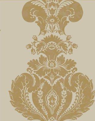 Baudelaire, beige, goud