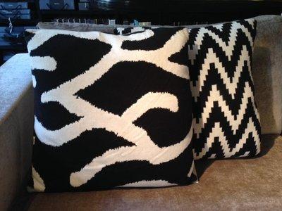 Eichholtz Sierkussen Organic Zebra