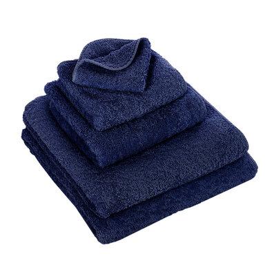 Abyss & Habidecor  Donkerblauwe Handdoeken - 332 Super Pile Serie