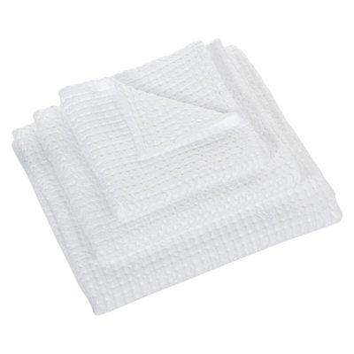 Abyss & Habidecor Wafel Handdoek Wit - 100 Pousada Serie
