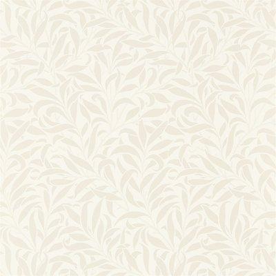 Morris &. Co. Pure Willow Bough 'Eggshell / Chalk' behang