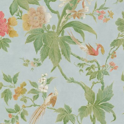 Little Greene Paradise Behang - Blue