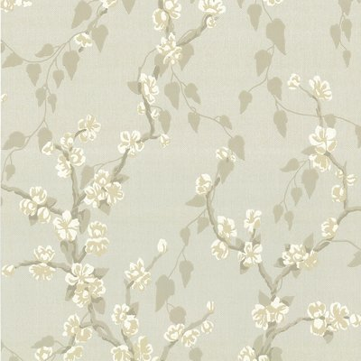 Little Greene Sakura Behang - Fawn