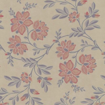 Little Greene Stitch Behang - Berry