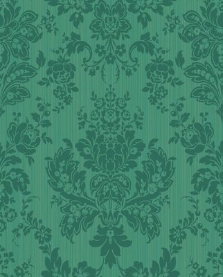 Giselle behang Cole and Son 'Forest green'