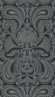 Malabar zwart zilver
