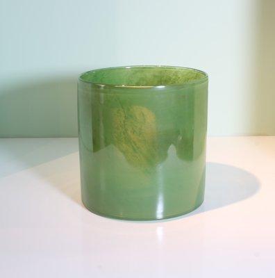 Windlicht 20 cm Groen