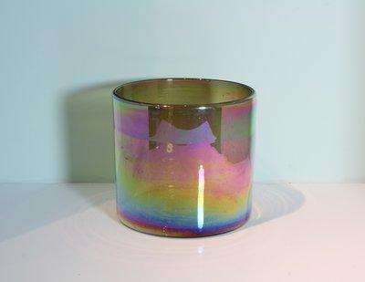 Windlicht 20,5 cm Bruin - Iriserend
