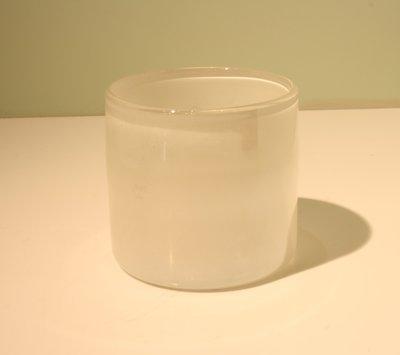 Waxinelichthouder 8 cm Wit