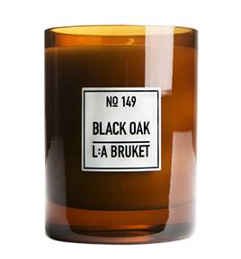 LA Bruket Black Oak Geurkaars