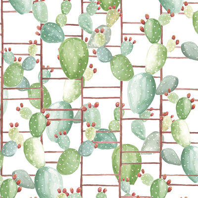 Cactus Behang Chumbera