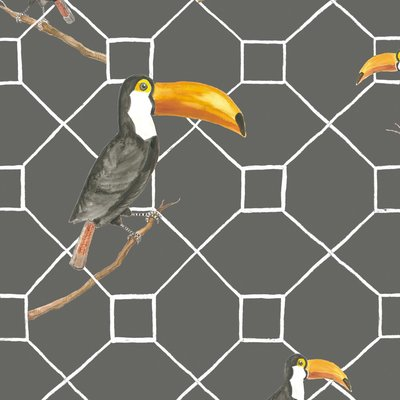Vogel Behangpapier Max