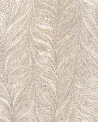 Ebru Behang Taupe Zilver