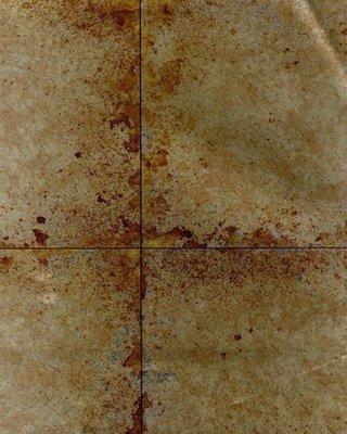 Lustre Tile behang Brons