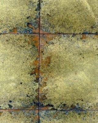 Lustre Tile behang Gold