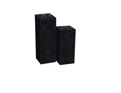 Zuil Natuursteen Black Stone 75 x 30 x 30 cm