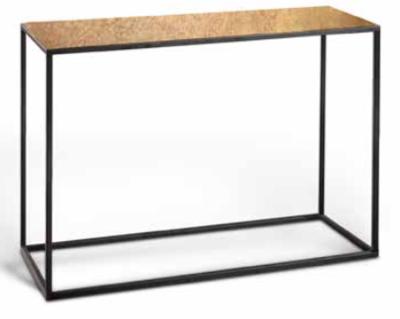 Luxe Wandtafel Messing Blad 150 x 30 x 80 cm
