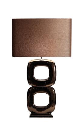 Tafellamp Maxime Due Quadrato Rosé Brons Glans